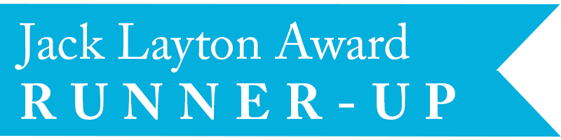 Award Banner - jack layton second